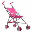 doll trolley metal umbrella 64cm pink s93