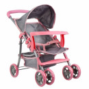 doll pram stroller met 31x48 gray box