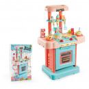 nagyker Játékok: konyhadoboz + kiegészítők 25x42x11 dobozok