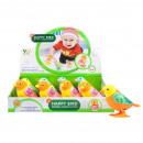 groothandel Speelgoed: kronkelende vogel 10cm op Display