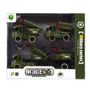 groothandel Speelgoed: auto leger pull back 24x20x6 3 stuks wb3