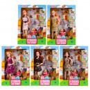 doll 29cm + accessories 24x34x6 window box
