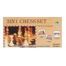Scatole di scacchi in legno 3 in 1 25x13x3 scatole