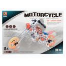 bouwblokken met 99el 28x20x3 motorfiets
