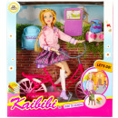 doll 29cm + accessories 30x33x9 bicycle bld143 win