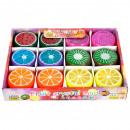 crystal mass of fruit 6cm on Display