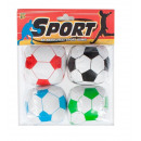 groothandel Sport & Vrije Tijd: zachte bal 7cm 4st 9648 52 zak met een hanger