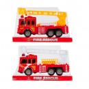 camion dei pompieri tirare indietro 20x12x7 mix2 p