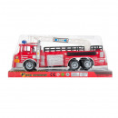 fire truck pull back 35x14x11 polibox