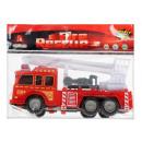 Feuerwehrauto 23x16x6 mix2 Tasche mit zurückziehen
