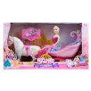 carriage + accessories 50x28x17 doll window box