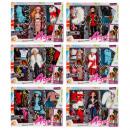 wholesale Dolls &Plush: doll 29cm + accessories 45x35x7 window box