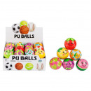 anti-stress ball 7cm fruit mix6