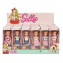 poupée 14cm sally mix6 boîte de fenêtre sur Presen