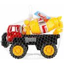 nagyker Játékok: autó teherautó 32x22x18 betonkeverő háló
