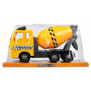 auto truck pull back 31x16x13 poly concrete mixer