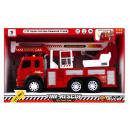 Feuerwehrauto Sound / Licht zurückziehen 38x24x13