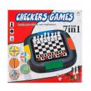 ingrosso Giochi di società: Scatole 31x30x5 di gioco di scacchi 7in1