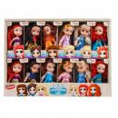 Großhandel Spielwaren: Nella Puppe 12cm Prinzessin Fenster Box