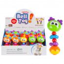 groothandel Baby speelgoed: 16x6 ratel aan Display 20/160/320