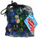 grossiste Décoration: boules de collection verre maille 101pcs