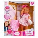scatola per bambole 37cm bobas + accessori scatola