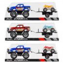 auto terreno pull back + accessori 37x12x14 rimorc