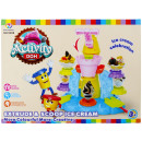 plastic ice cream parlor + 41x31x10 accessories