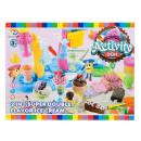 plastic ice cream parlor + accessories 41x31x9 box