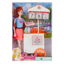 doll 29cm + accessories 22x33x7 7728 c1 ice cream