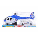 pull back + auto helicopter 33x15x8 polibo police