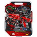 ingrosso Giocattoli: dart gun + accessori 23x28x5 mc bliste