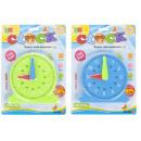zegar edukacyjna 19x26x2 mix2 blister