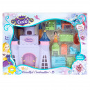 Großhandel Spielwaren: Schloss + Zubehör 31x23x6 Fensterbox