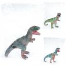 gummi dinosaurie låda 35 cm folie