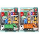 auto garbage truck + accessories 29x37x10 mix2
