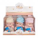 wholesale Dolls &Plush: baby doll box 23cm mix3 window box na Display 6 /