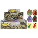 knijp speelgoed Dinosaur 6cm op Display