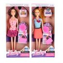 wholesale Dolls &Plush: doll + accessories 14x32x5 9960 b window box