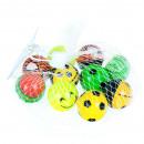 wholesale Sports & Leisure: rubber ball 3cm 10x11 mc, 10pcs mix mesh