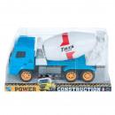 ingrosso Giocattoli: auto camion cemento 30x16x13 polibox