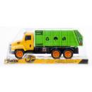 Großhandel Spielwaren: auto müllwagen zurückziehen 33x14x13 mc pol