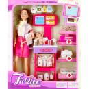 hurtownia Zabawki pluszowe & lalki: lalka 29cm + akcesoria 22x33x9 mc lekarz window bo