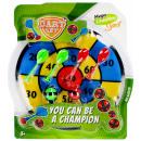 ingrosso Giocattoli: pallone/freccette 34x39 mc sport Velcro blister