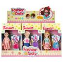 hurtownia Zabawki pluszowe & lalki: lalka 15cm + akcesoria 11x20x4 mc mix3 ubrank