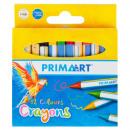 grossiste Cadeaux et papeterie: crayons de cire 12 couleurs prima art pud
