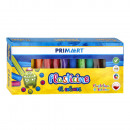 Knetmasse 12 Farben Prima Art Pud