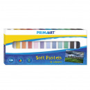 pastels dry 12 colors prima art pud