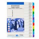 Meißel a4 Karton Starpak von 1 12-Nummern-Folie