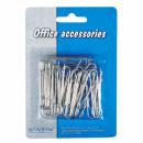 paperclip met 50 silver 30pcs starpak off blister
